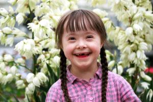 Mała dziewczynka z zespołem Downa robi karierę modelki