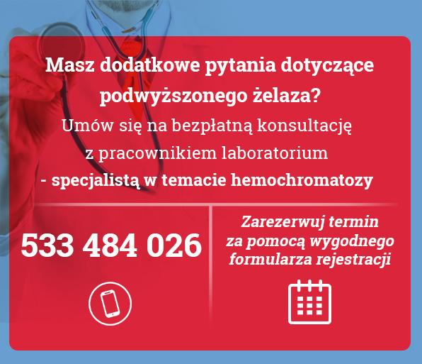 hemochromatoza bezpłatna konsultacja