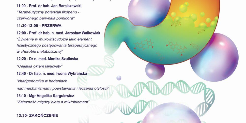 studencka konferencja naukowa przez żołądek do...dna