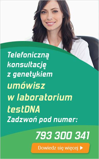 konsultacja z genetykiem na telefon