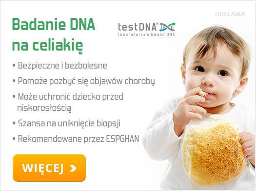celiakia u dzieci baner