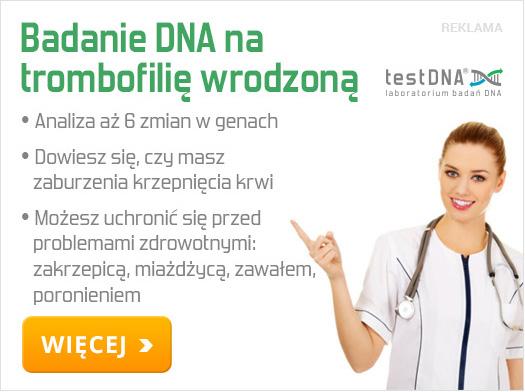 trombofilia wrodzona badanie