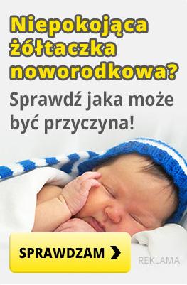 żółtaczka noworodkowa