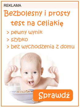 test na celiakię