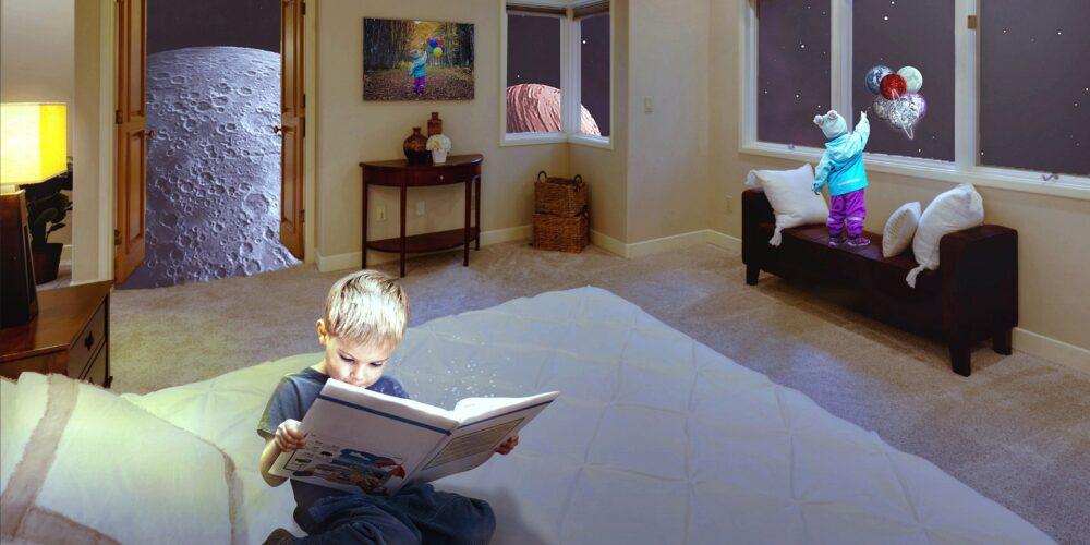 pokój dla dziecka z autyzmem